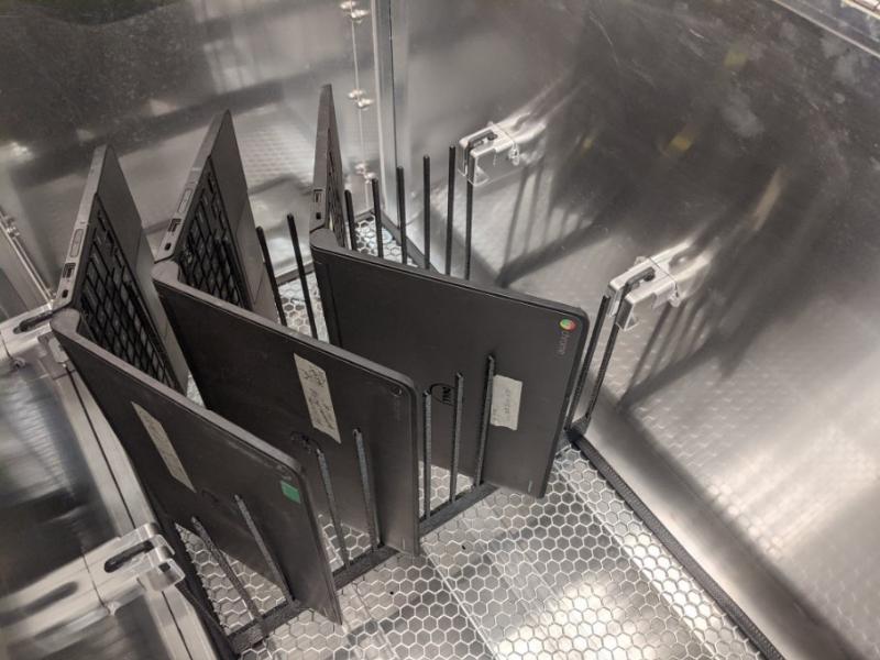 Chromebooks in UVTech T-4